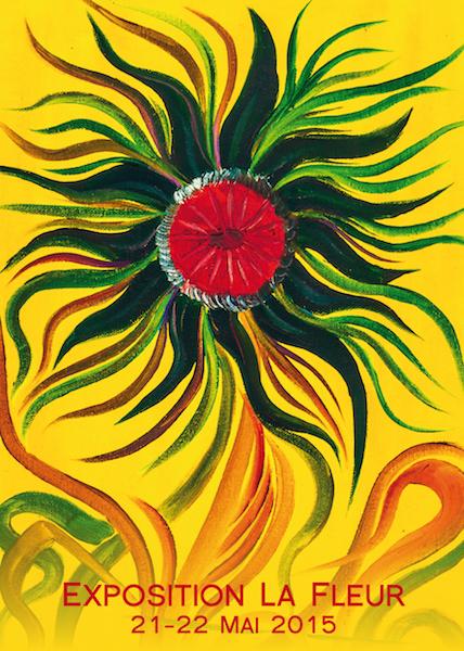 flyer exposition La Fleur