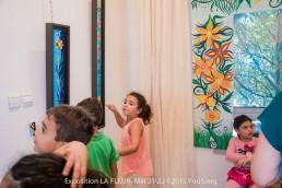 Exposition La Fleur by artist YouS