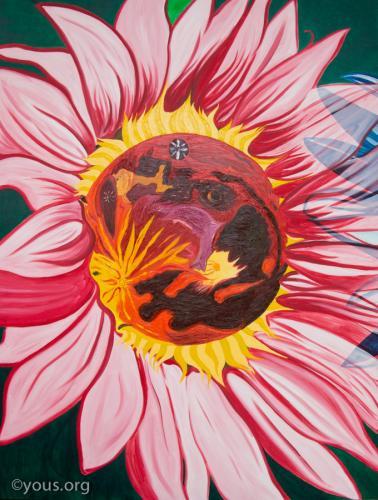 Giant Sunflowers - Mars