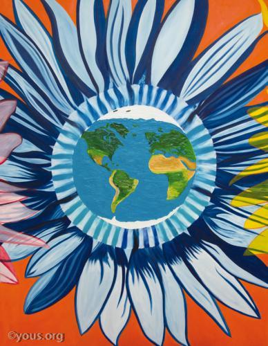 Giant Sunflowers - Earth