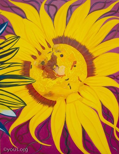 Giant Sunflowers - Venus